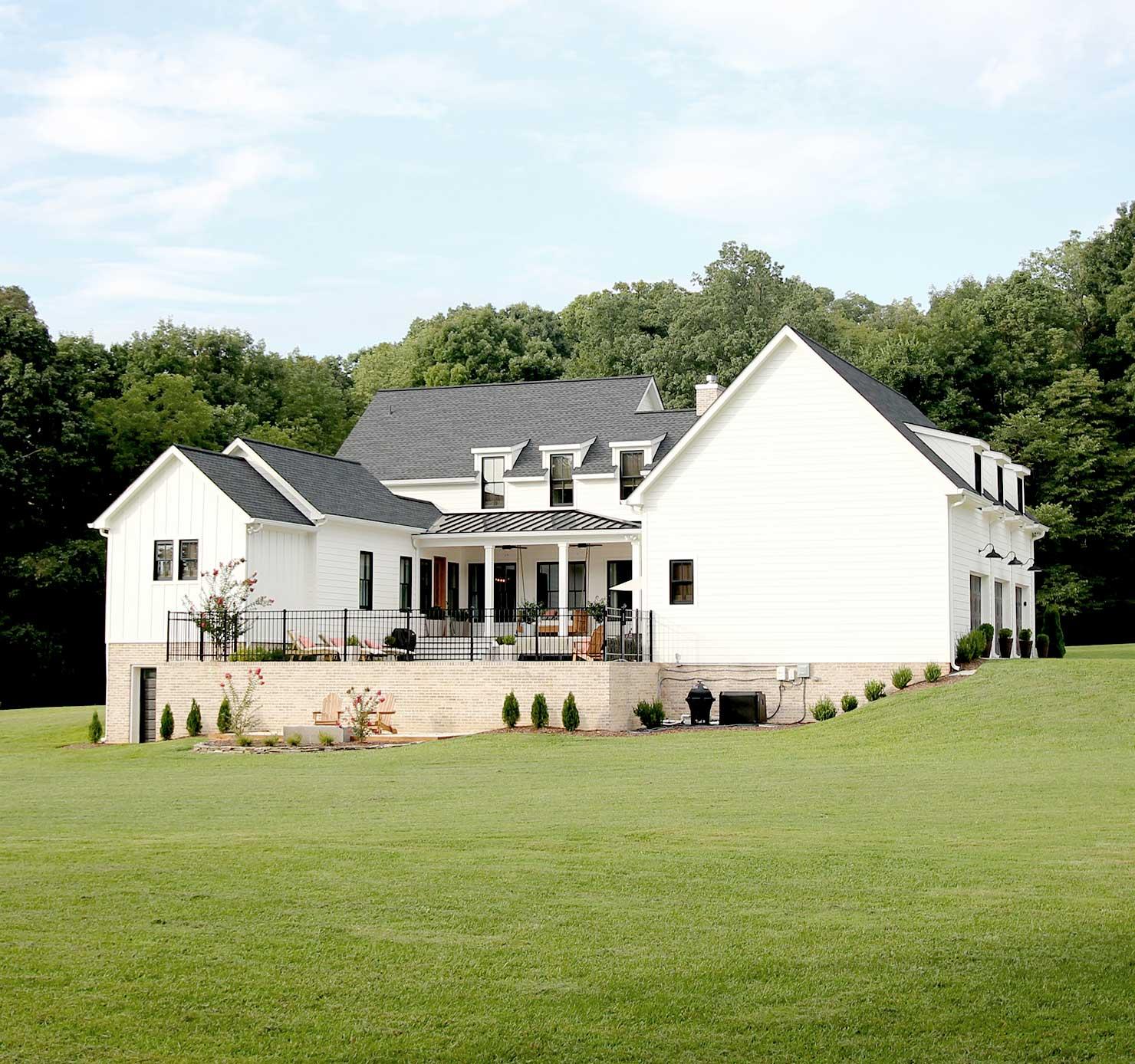 Our Modern Farmhouse: Exterior