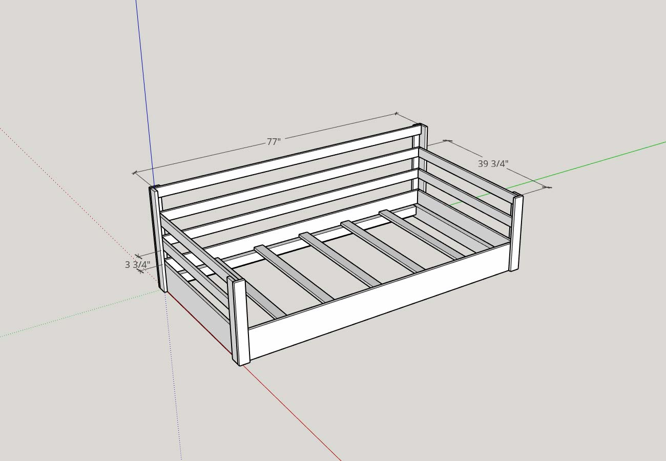 Picture of: How To Build A Porch Swing Bed Plank And Pillow