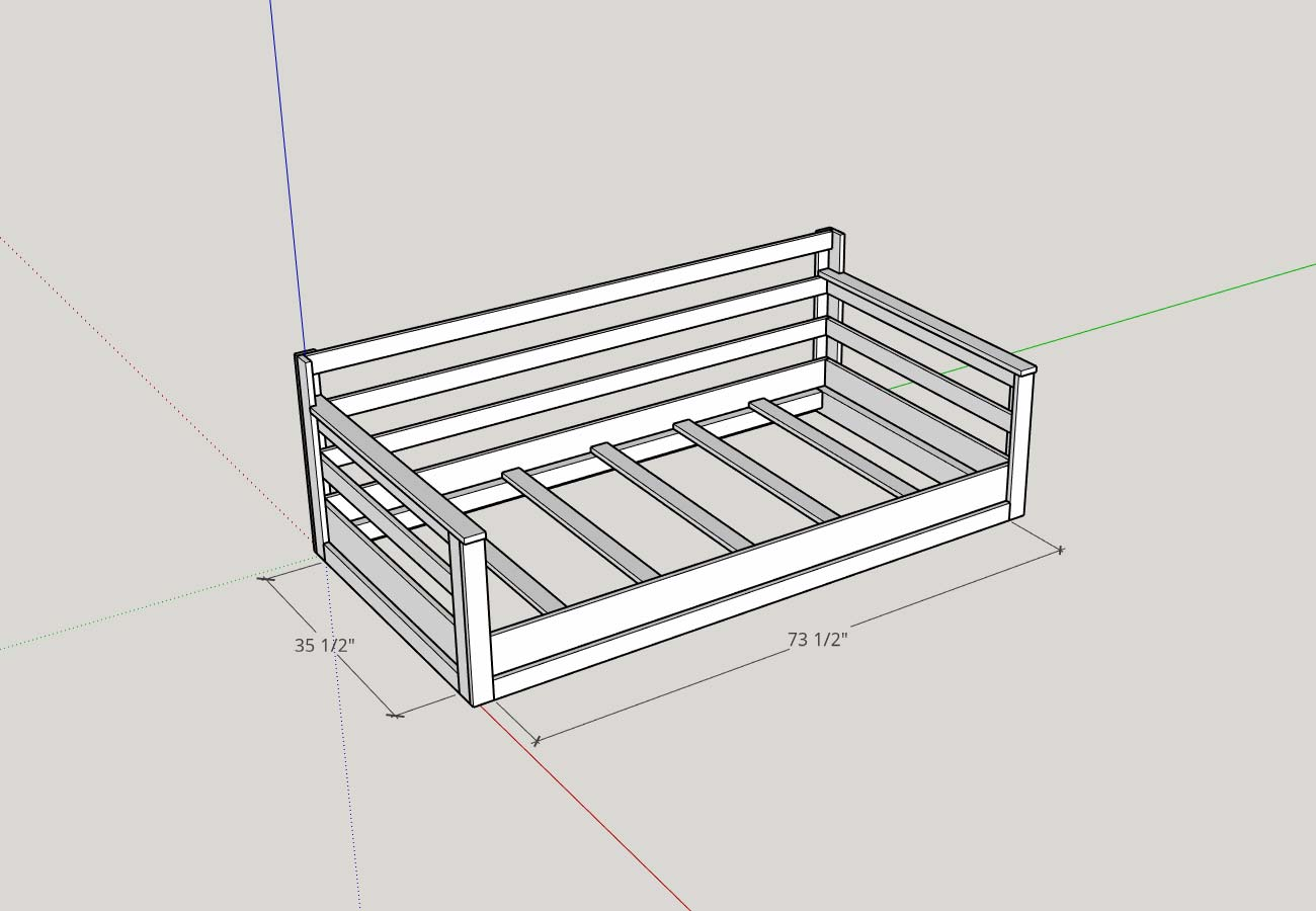 Groovy How To Build A Porch Swing Bed Plank And Pillow Machost Co Dining Chair Design Ideas Machostcouk