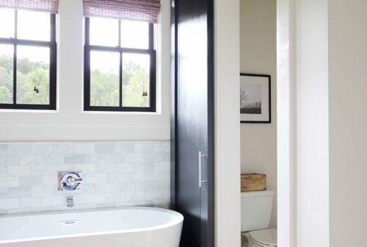 How to Create a Dark Vertical Shiplap Accent Wall - Plank