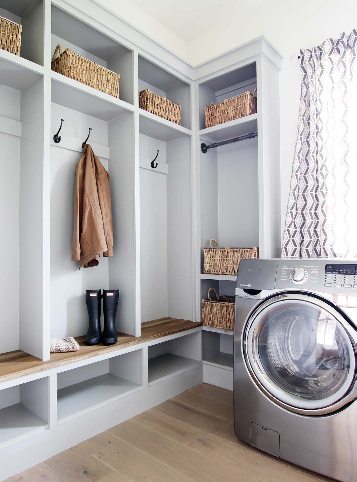 Mudroom Inspiration and Ideas - Plank and Pillow
