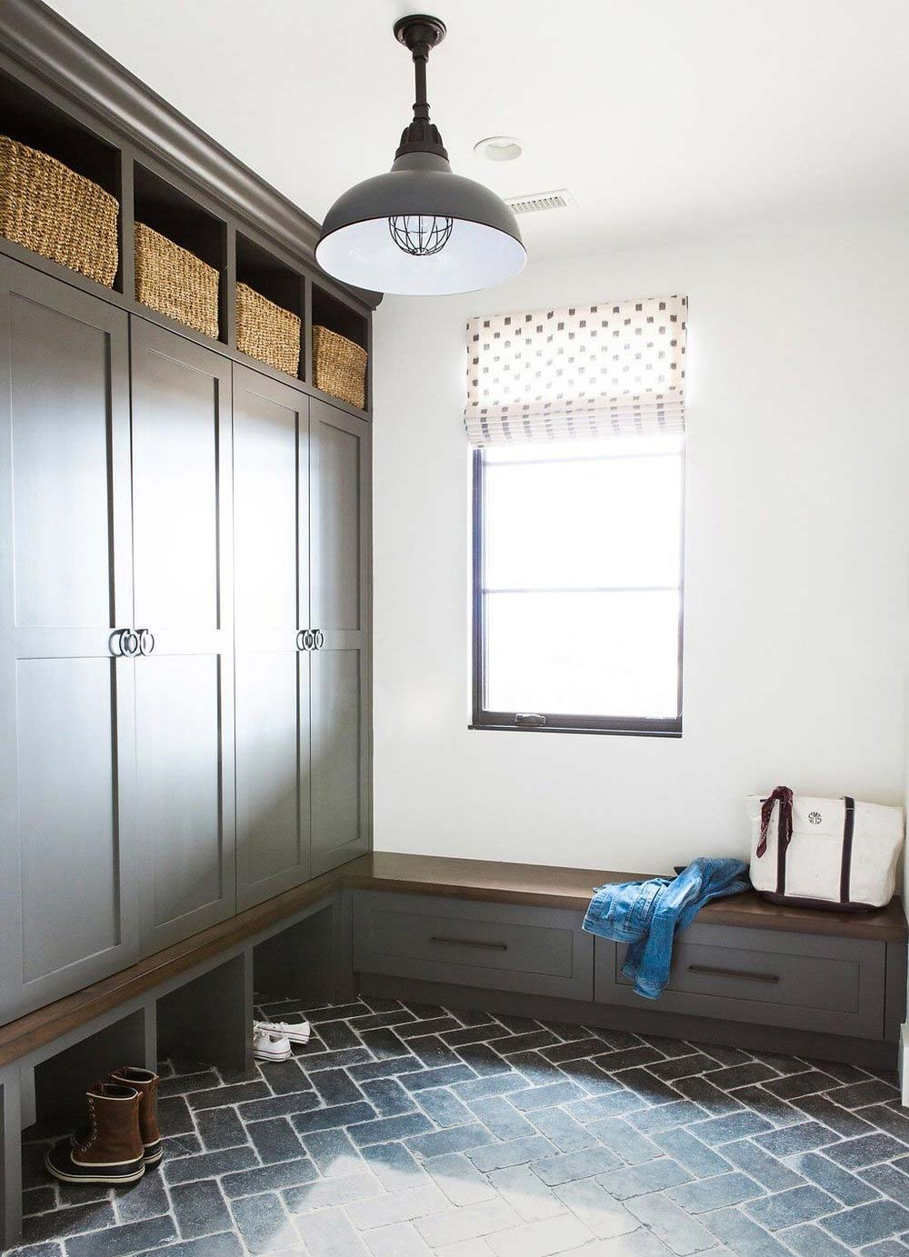 Mudroom Inspiration And Ideas Plank And Pillow
