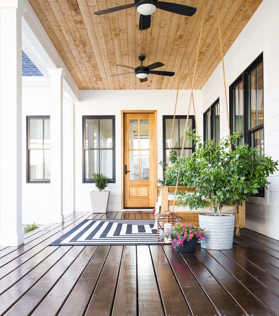Five Porch Flooring Options Plank And Pillow