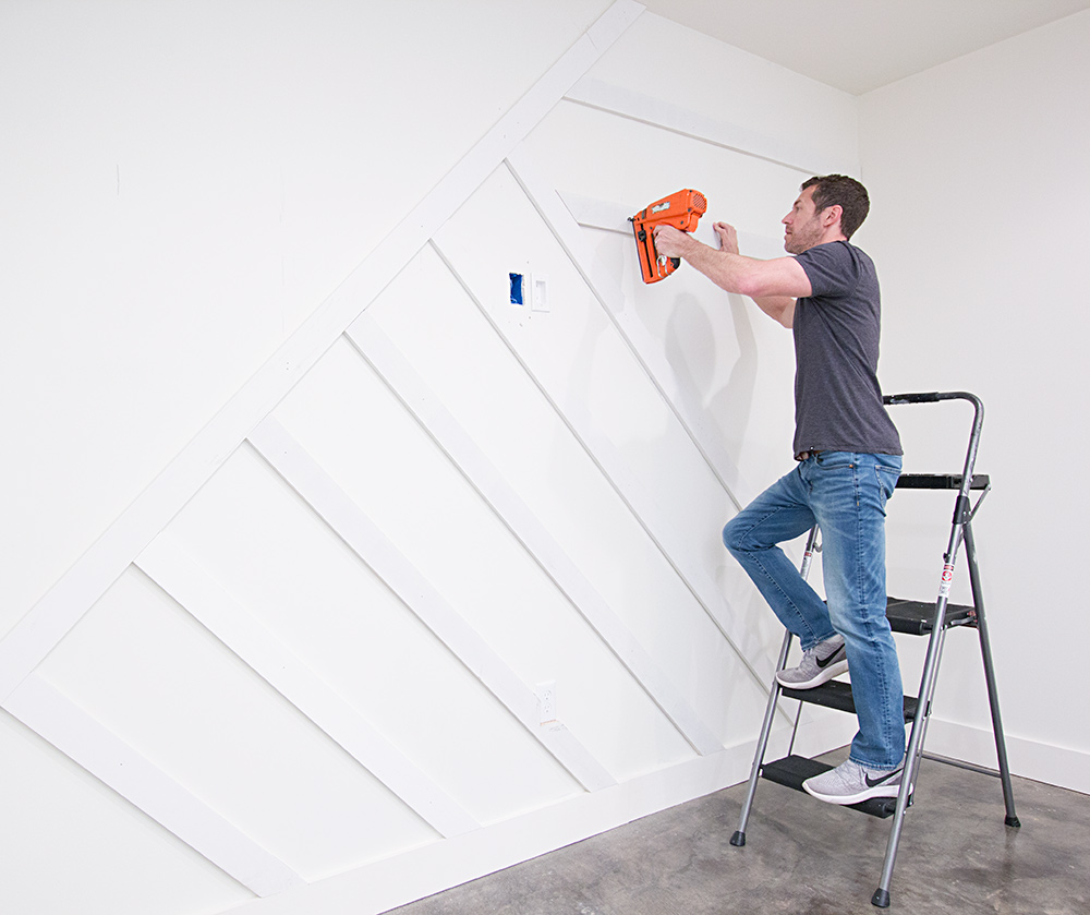 How To Create A Modern Board And Batten Accent Wall