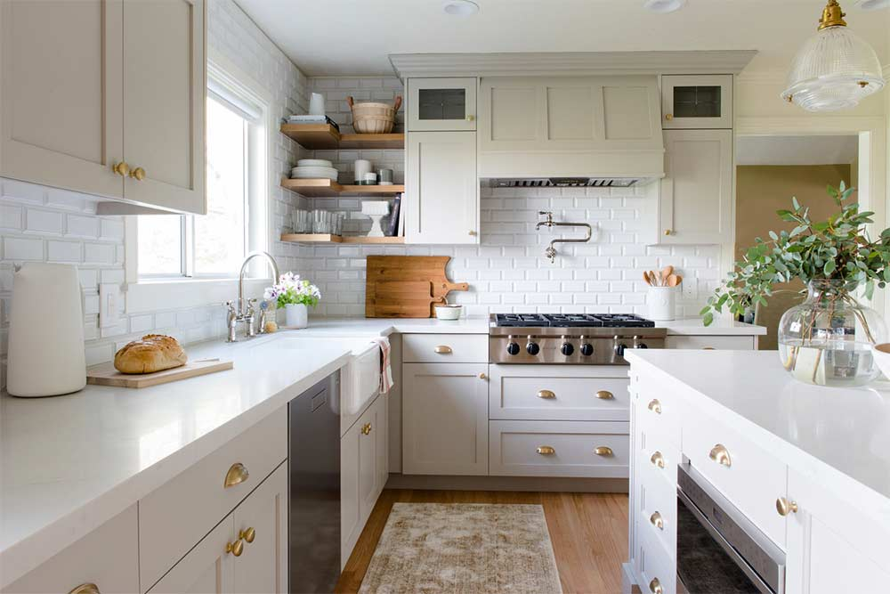 Five Types Of Kitchen Open Shelving Which One Fits Your