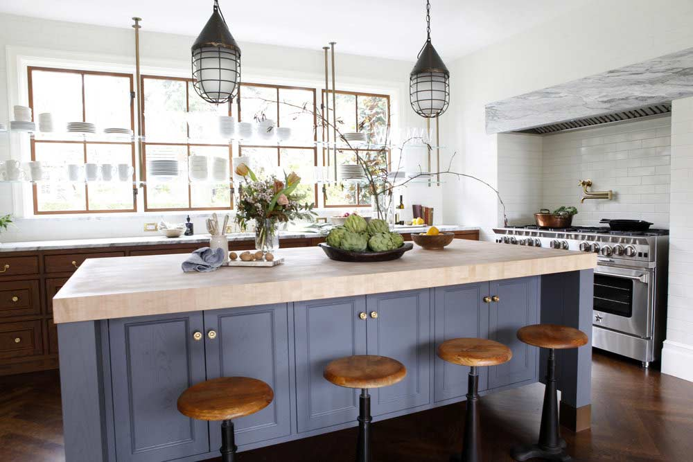 Five Types Of Kitchen Open Shelving