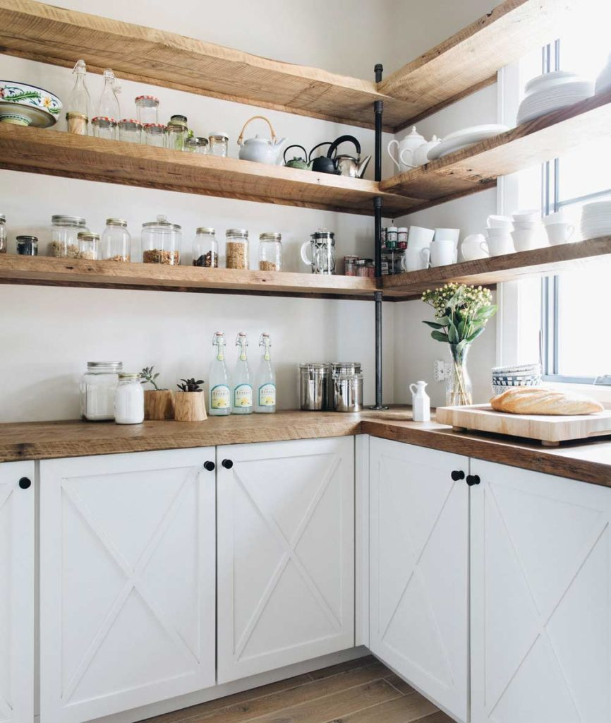 Five Types of Kitchen Open Shelving: Which One Fits Your ...