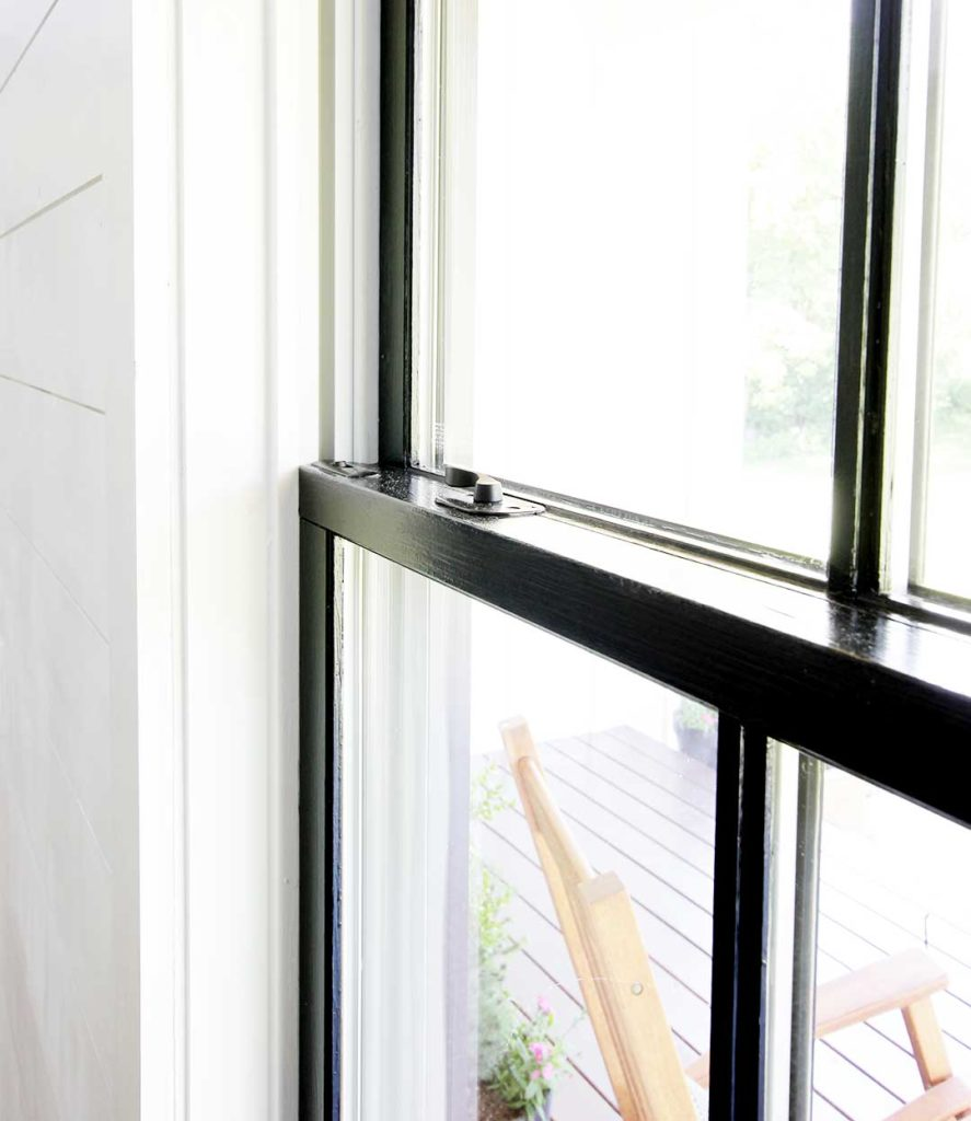 How To Paint Windows Black No Taping