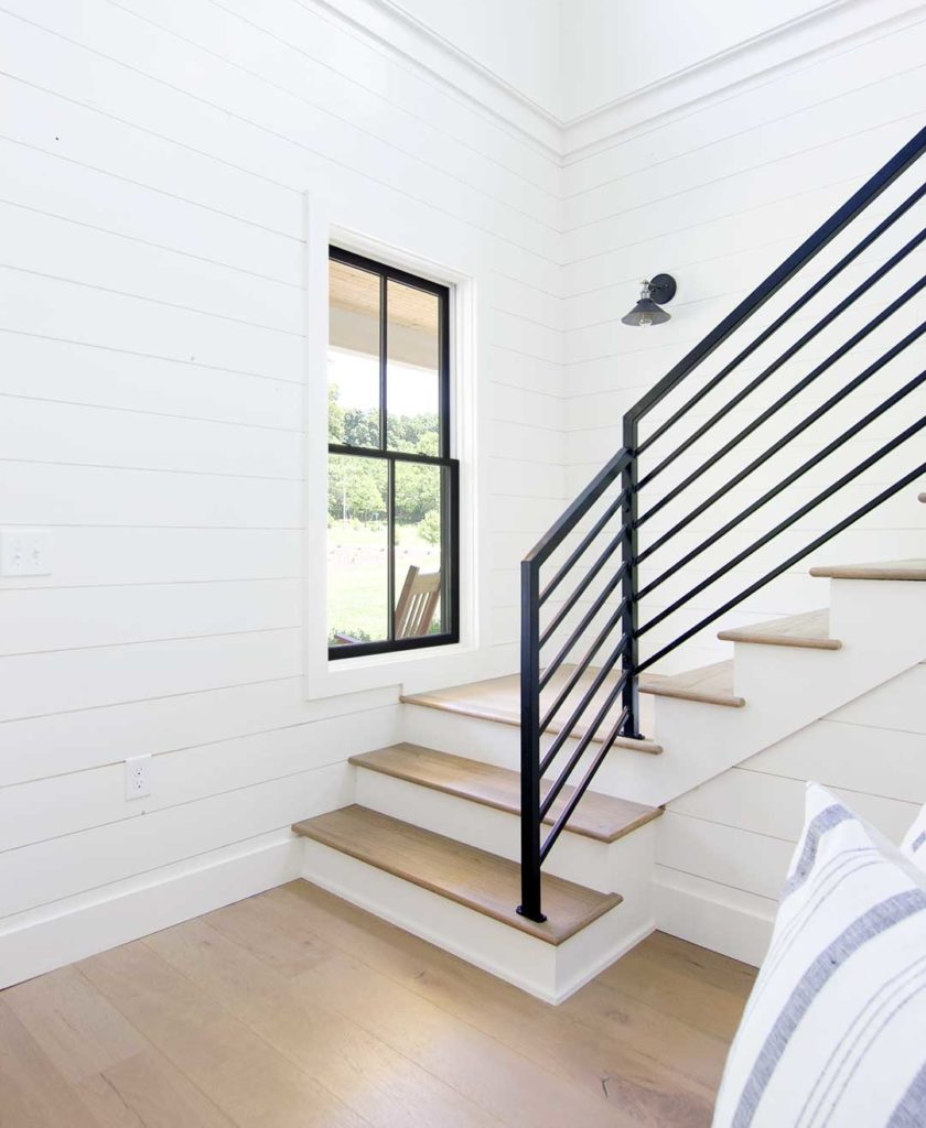 How To Match Solid Stair Treads To Prefinished Hardwood Flooring Plank And Pillow