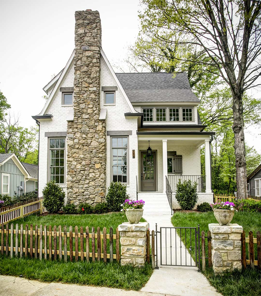 Exterior House Colors: Why We Chose Sherwin Williams White Duck For Our Exterior