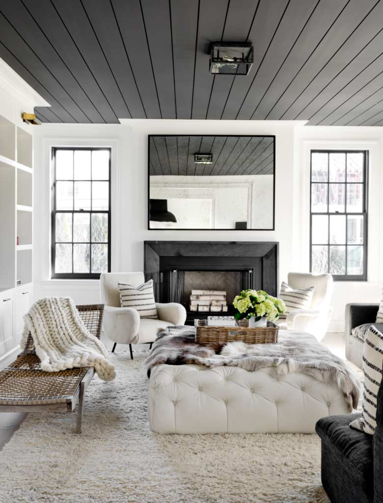 What Color Should You Paint Your Ceiling Plank And Pillow