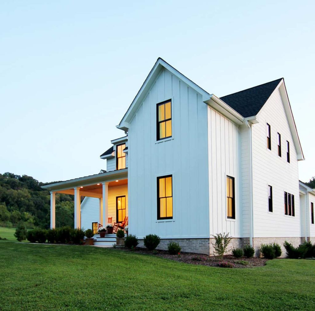 Tips For Painting Your Home S Exterior Plank And Pillow