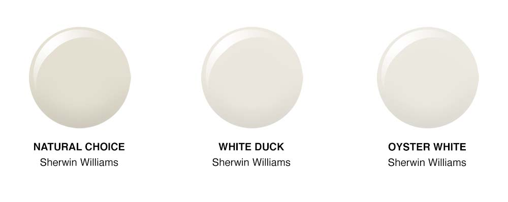 White Duck For Our Exterior Paint