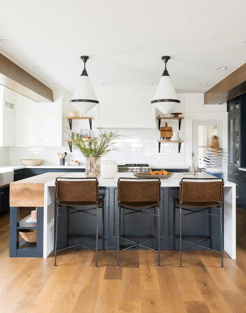 Pros and Cons of Hardwood Flooring in a Kitchen   Plank and Pillow