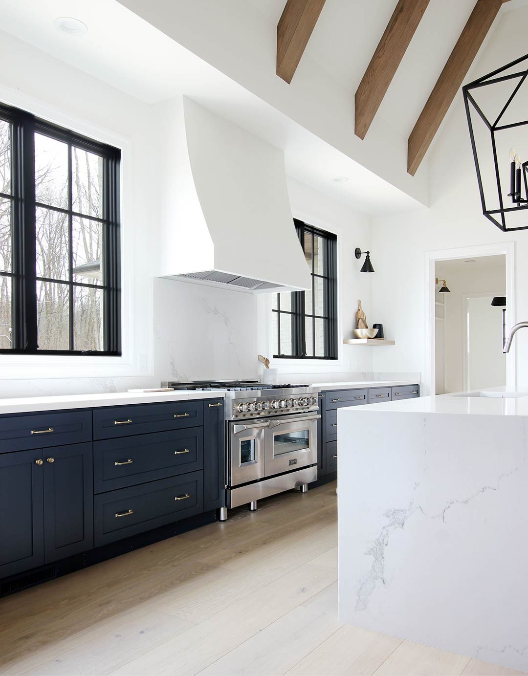 - How To Build A Plaster Range Hood - Plank And Pillow