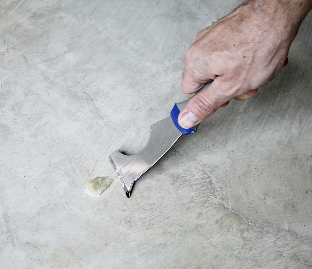 How To Acid Stain A Concrete Floor Plank And Pillow