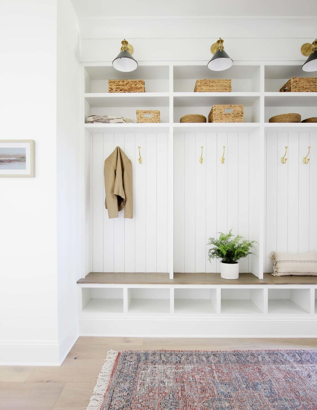 How To Build Mudroom Lockers Plank And Pillow