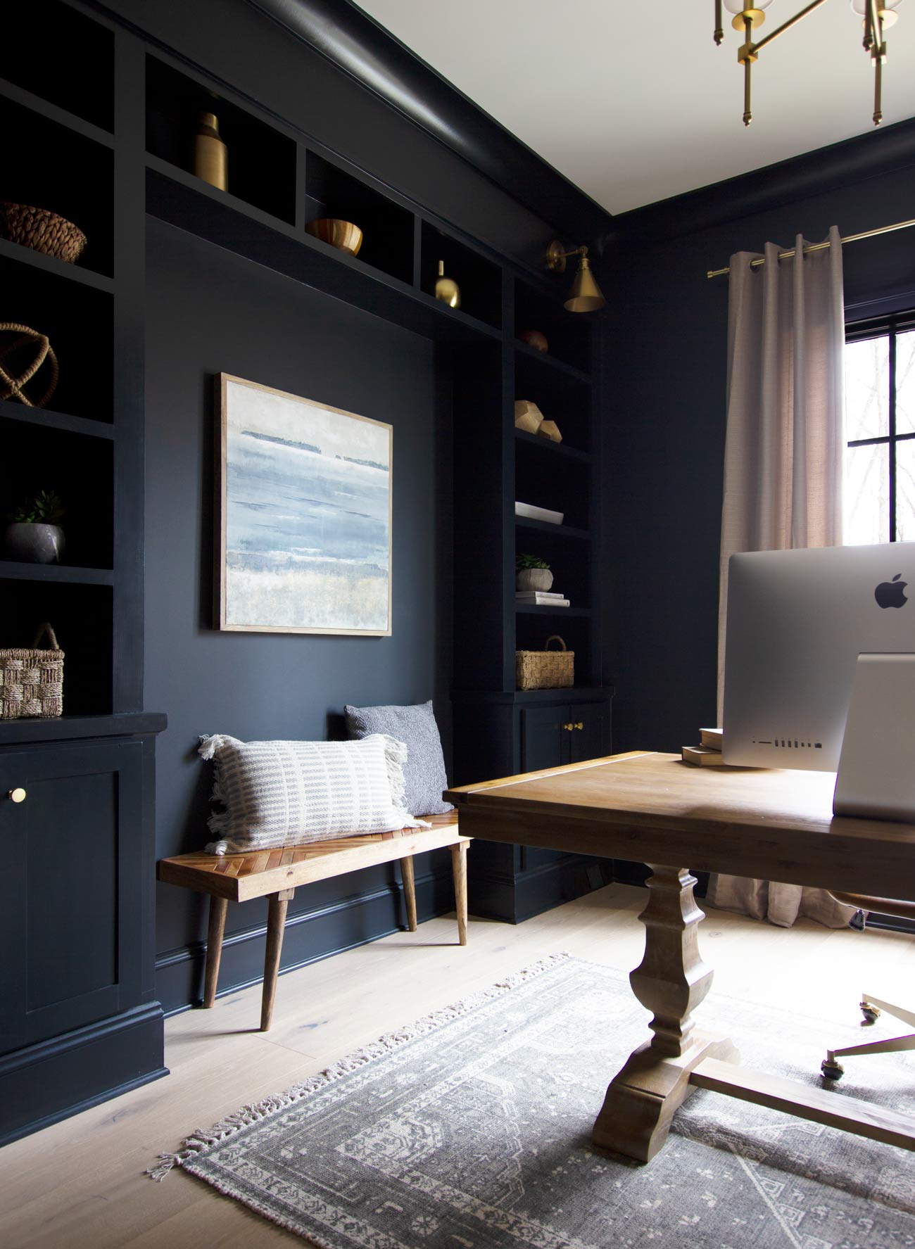 Our Favorite Interior Dark Paint Colors Plank And Pillow