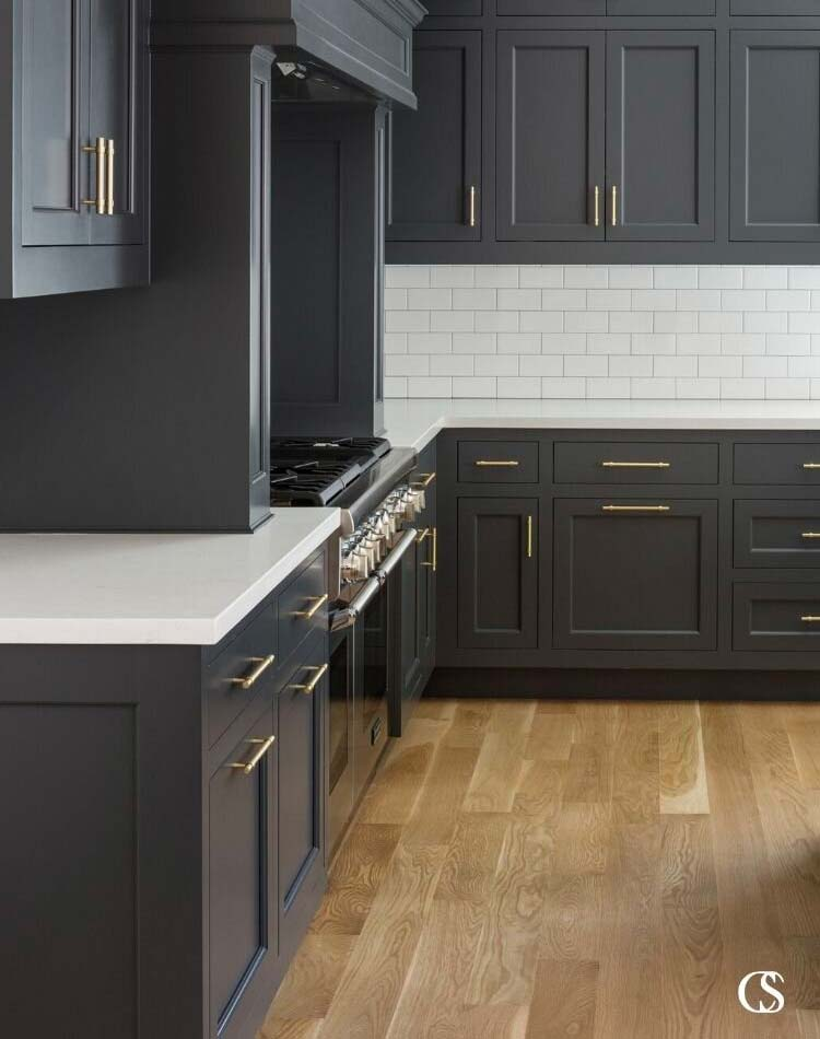 Best Paint Colors For Dark Kitchen, Benjamin Moore Grey Paint For Kitchen Cabinets