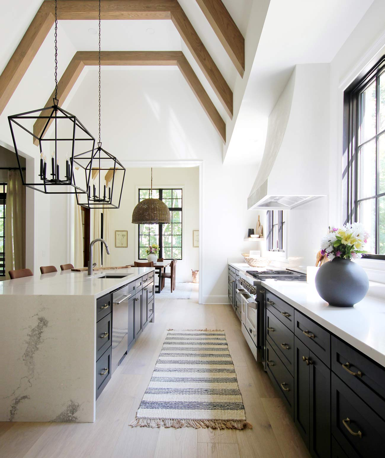 Best Paint Colors For Dark Kitchen Cabinets Plank And Pillow